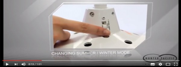 Changing a Ceiling Fan Winter/Summer Mode