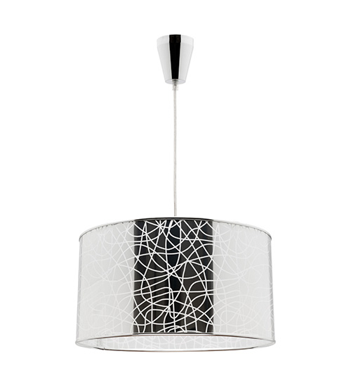 Cougar Fabian DIY 1 Light Pendant - Silver