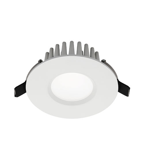 Cougar Raptor LED Downlight 9W Warm White - White