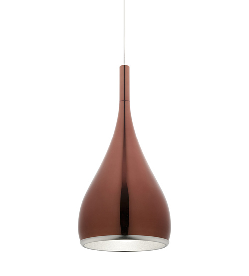 Cougar Aero Pendant Light - Rose Gold