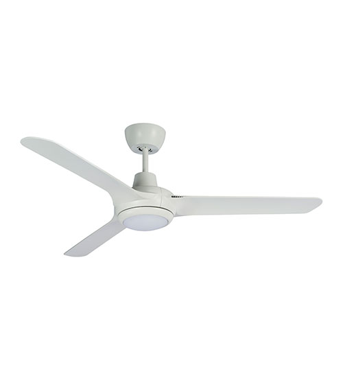 "Martec Cruise 52"" Ceiling Fan with 20W LED Light CCT Switch - White"