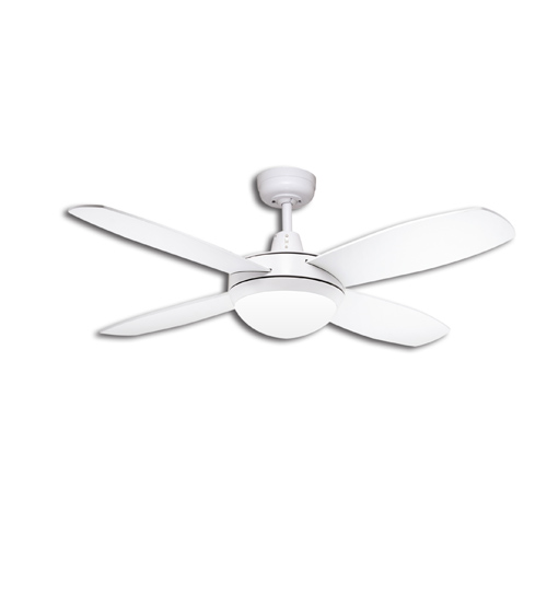 "Martec Lifestyle Mini 42"" Ceiling Fan With Halogen Light - White"